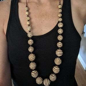 Round Bead Necklace